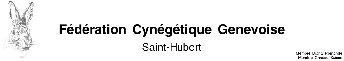 Fédération Cynégétique Genevoise Logo